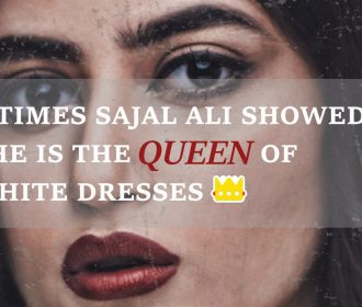 6 Times Sajal Ali Showed She Is The Queen Of White Dresses 💎