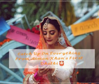 Catch Up On All The Pictures And Dance Videos From Aiman Khan's First Dholki 🥁