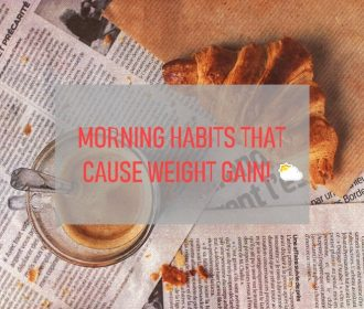 5 Morning 🌅Habits That Are Causing Weight Gain! 🏋️‍♀️