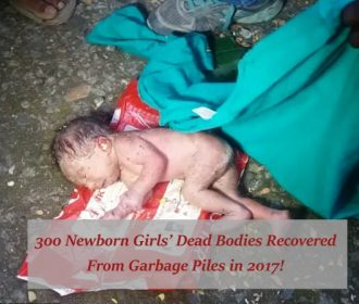 300 Newborn Girls' Dead Bodies Were Recovered From Garbage Piles In 2017