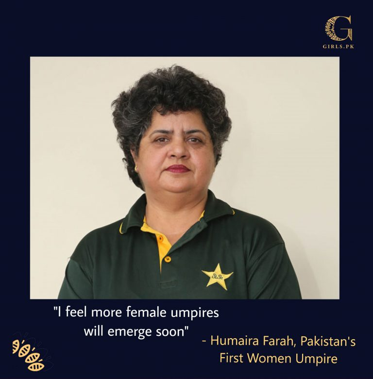 Shattering Stereotypes At The Pitch: Meet Pakistan's First Female Umpire
