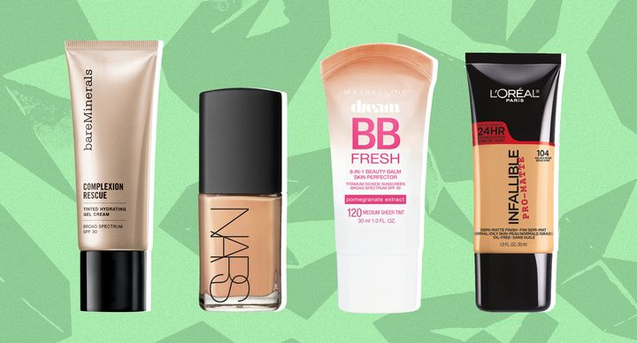 Sweat-proof your makeup with water-resistant foundations
