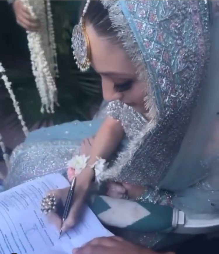 All the photos from Neha Rajpoot and Shahbaz Taseer's wedding!