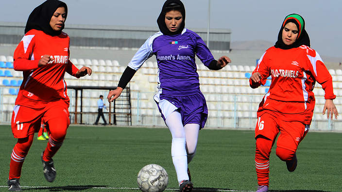 Women footballers evacuate the Taliban takeover