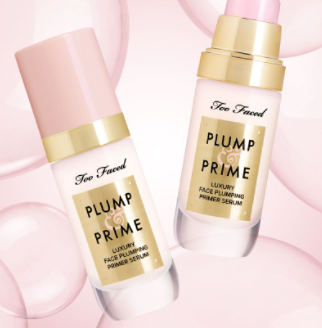 Ramsha Khan's favorite primer, the plump and prime by Too Faced